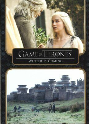 Game Of Thrones The Complete Series Trading Card Base Set