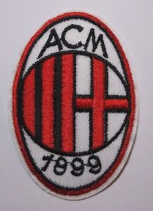 AC Milan~Soccer Football Patch~Italy~Embroidered~2 7/8