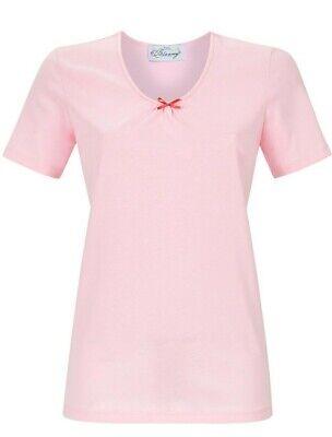 52 Single (- Damen  T. Shirt Kurzarm.. Baumwolle...Größe .52....Single Jersey   Ringella)