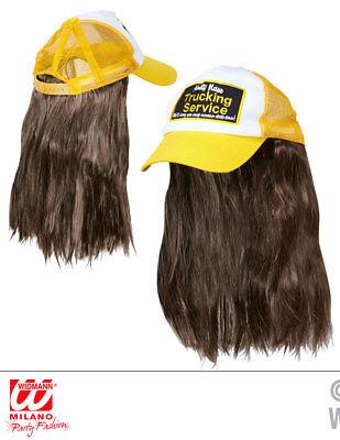 Truckerhut mit Haar