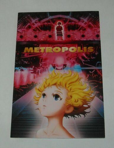 METROPOLIS FRENCH PROMO MOVIE PRESSBOOK PRESS BOOK OSAMU TEZUKA MANGA ANIMATED