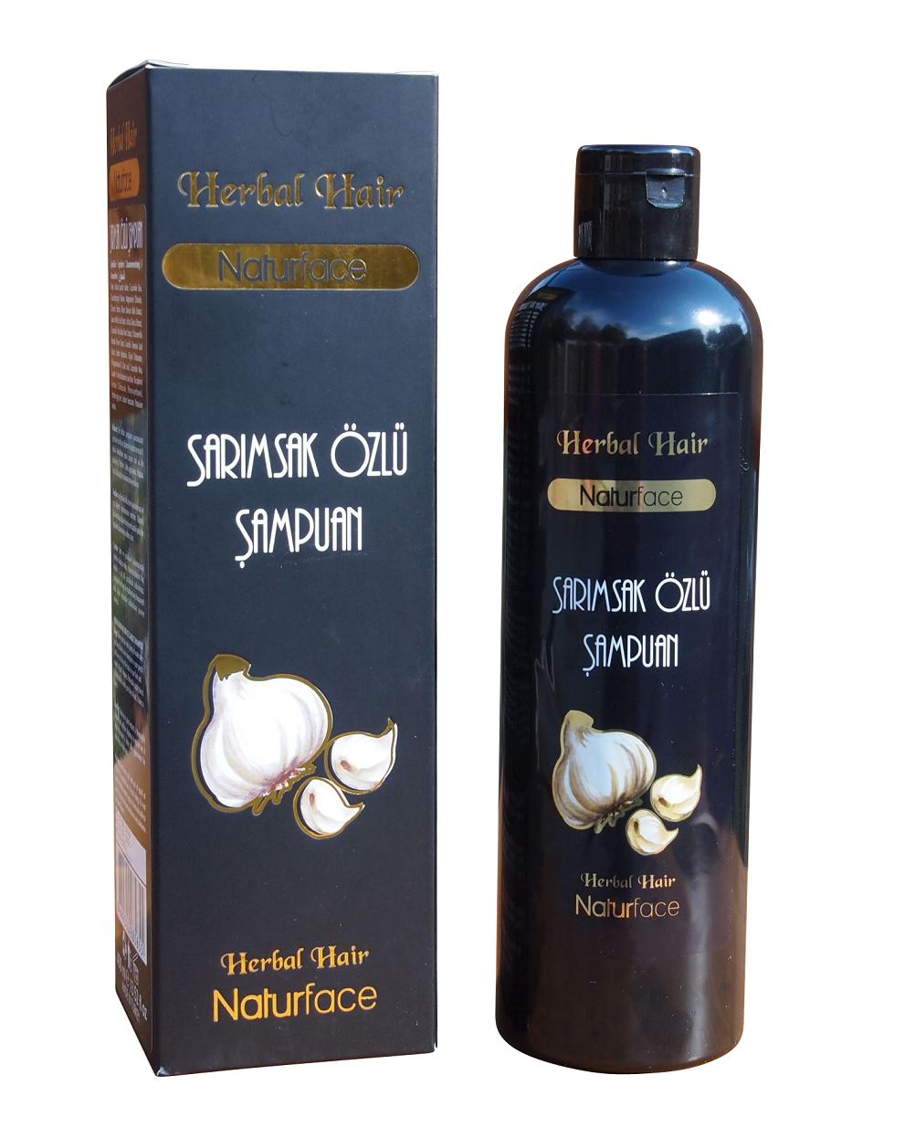 Knoblauch Shampoo Naturface 400 ml gegen Haarausfall Sarimsakli Sampuan