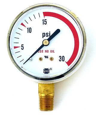 2-12 Usg Ametek Welding 30 Lbs. Gauge Acetylene Regulator Us-022