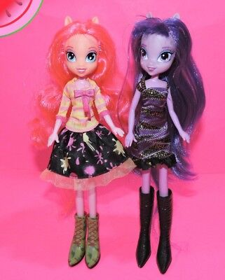 Pinkie Pie Clothing (My Little Pony EQUESTRIA GIRLS Figures PINKIE PIE & TWILIGHT SPARKLE with)