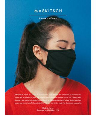 Fine/Yellow Dust ATB-UV+ KF94 Filter Mask Black Active Classic K-pop Sport Style