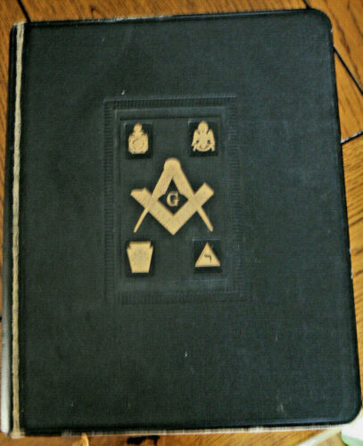 Vintage Mason Masonic Holman Holy Bible Reference Dictionary Index 1955 BIG