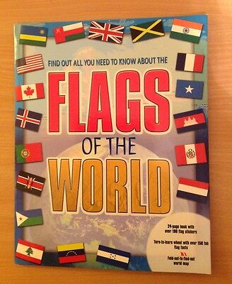Flags of the World 24 page book