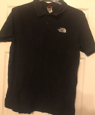 North Face Polo Shirt. Black. Size Large.