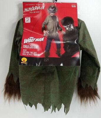 Kids Wolfman Costume (Halloween Fantasy Costume Monsterville Wolfman Child's Size Medium)