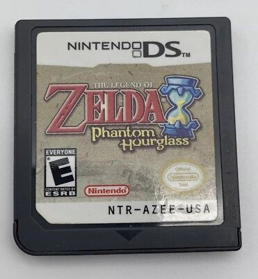 The Legend of Zelda: Phantom Hourglass for Nintendo DS - Tested & Working