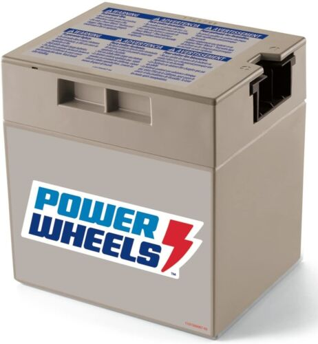 Power Wheels  12 Volt Battery  Grey NEW