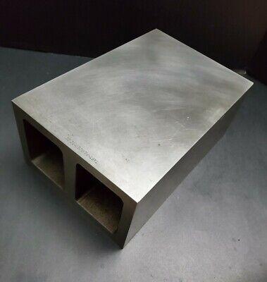 Taft Peirce 8x12x5 Box Parallel Precision Square Riser Plate Machinist Fixture