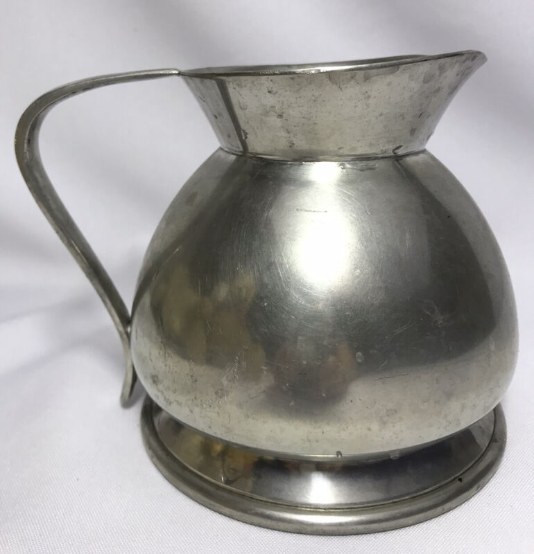 Heavy Made in England for BROOKS BROTHERS Silver Color Water PITCHER W1814