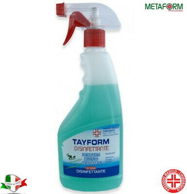 DISINFETTANTE SPRAY SUPERFICI TAYFORM 750ml PURIFICA DA CONTAMINAZIONI ANTIBAT.