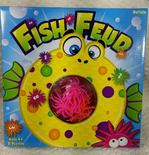 Fish Feud Kids Game  . Ages 4 and up. 2 players. New. Really
