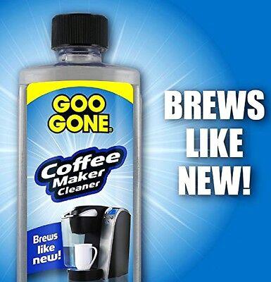 Liquid COFFEEMAKER CLEANER 8oz clean Coffee Maker Expresso machine GOO GONE 1791