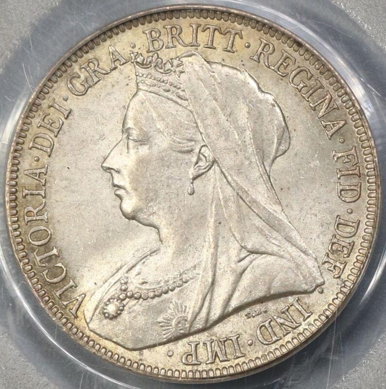 1896 PCGS MS 63 Victoria Silver Shilling Great Britain Coin (18021705C)