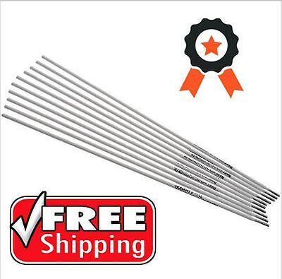 Hobart Aluminum Stick 4043 Electrodes Rods DC 1/8IN X 14IN Welding Welder 10 Set