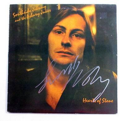 Southside Johnny Signed Record Album With Asbury Jukes Hearts Of Stone W  Auto