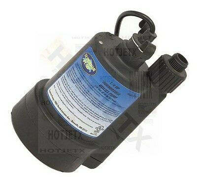 Water Sump Pump 14 Hp Thermoplastic Submersible Flood Drain Basement Pool Tv