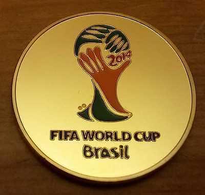 Neymar Jr Gold Coin Medal Latin South America Brazilian Rio Olympics Golden Boy