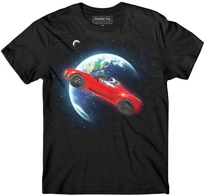 Spacex T Shirt  Roadster T Shirt  Elon Musk  Tesla T Shirt  Falcon Heavy  Nasa
