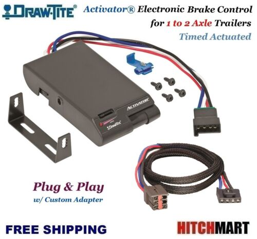 ACTIVATOR TRAILER BRAKE CONTROL & ADAPTER FOR FORD LINCOLN  MERCURY LAND ROVER