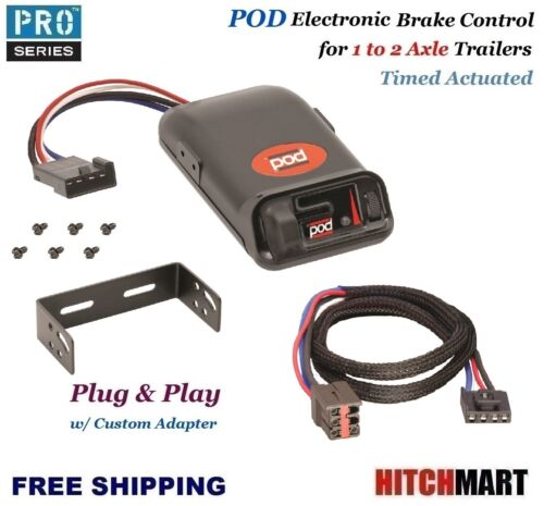 POD  TRAILER BRAKE CONTROL & CUSTOM ADAPTER FOR FORD LINCOLN MERCURY LAND ROVER