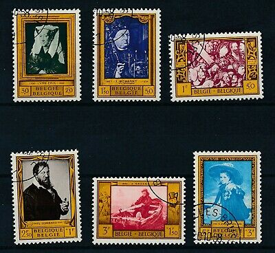 [789] Belgium 1958 good Set very fine Used Stamps