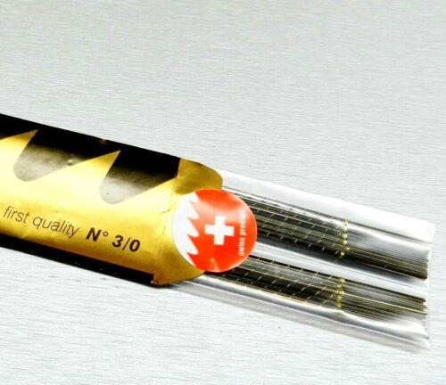 Jewelry Making Saw Blades # 3/0 Saws Jewelers Piercing Pike Grobet 144 Pcs Swiss