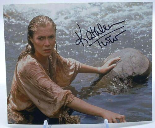 Kathleen Turner Signed 10x8 Photo AFTAL OnlineCOA