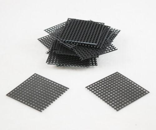 """US Made 20 Pcs 2""""x 2"""" Plastic Drainage Mesh / Screen / Net for Bonsai Tree Pot"""