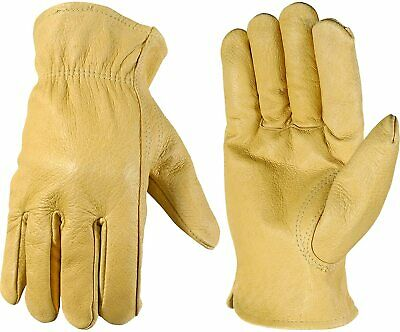 Wells Lamont Leather Work Gloves Grain Pigskin Medium 1133m