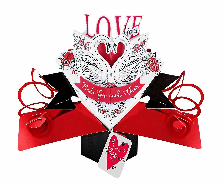 Second Nature Pop Ups VPOP044A Valentine/'s Day Pop Up Card