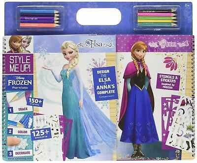 Style Me Up Disney Frozen Coloring Book for Girls - Girls Sticker Activity Book - Frozen Coloring Games