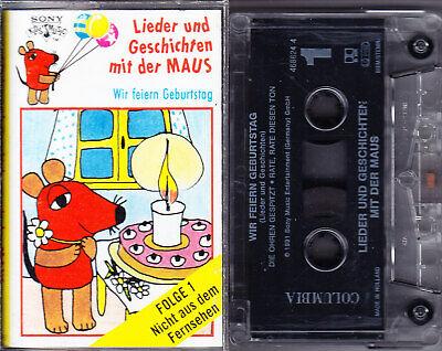 MC Lieder und Geschichten mit der Maus 1 - Wir feiern Geburtstag - SONY