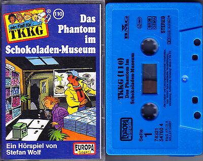 MC TKKG 110 - Das Phantom im Schokoladen-Museum - EUROPA Logo!