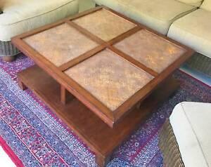 Outdoor Setting Rattan Lounge Wicker Furniture Coffee Table