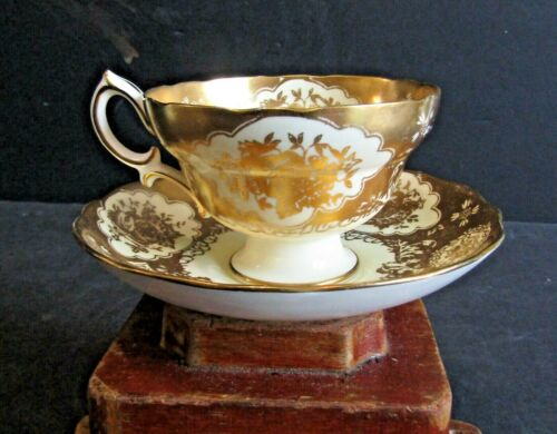 1-CUP AND SAUCER-HAMMERSLEY-LONGTON-MADE IN ENGLAND