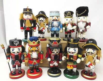 Lot of 10 Nutcrackers - 6