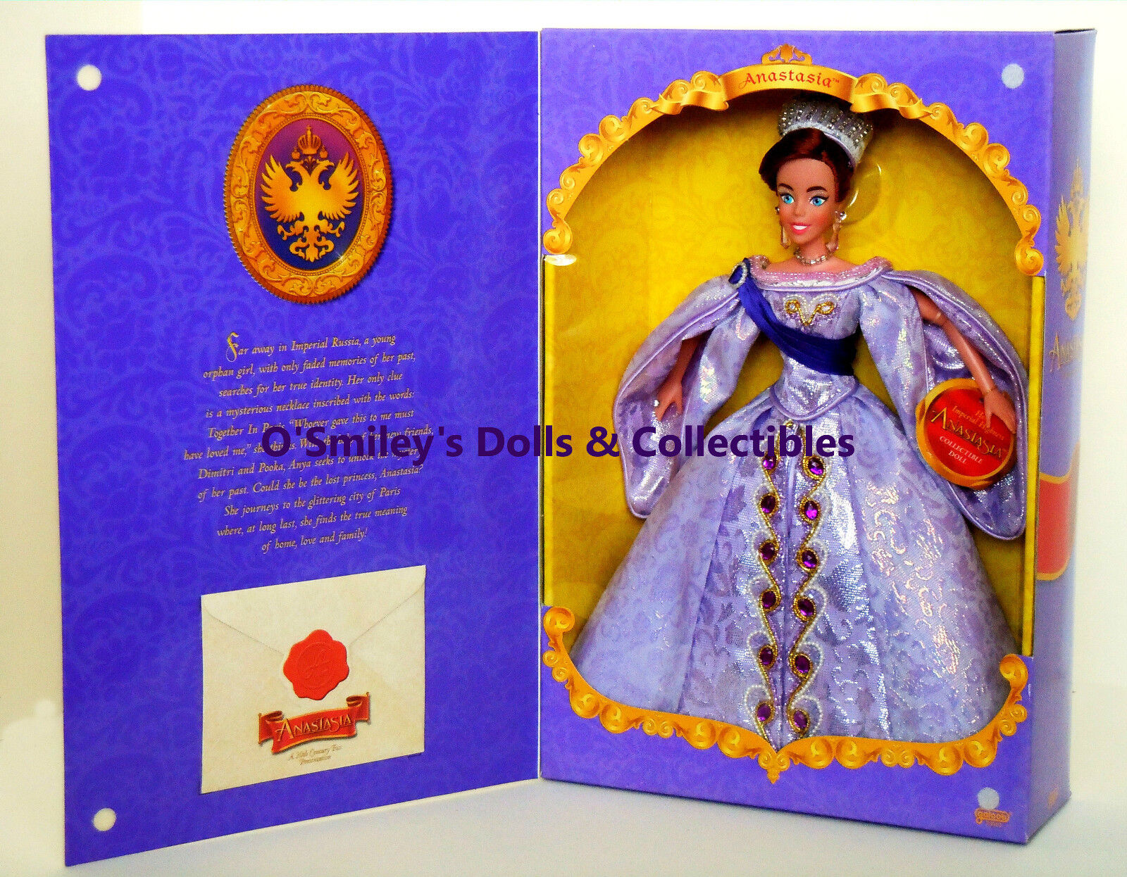 Rare 1998 Her Imperial Highness Anastasia Special Edition Doll Galoob_23010_nrfb