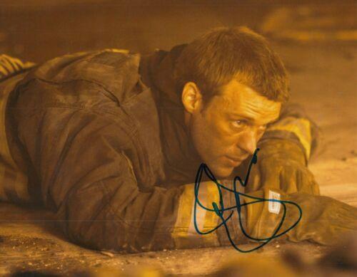 JESSE SPENCER signed (CHICAGO FIRE) TV SHOW 8X10 photo *Matthew Casey* W/COA #7