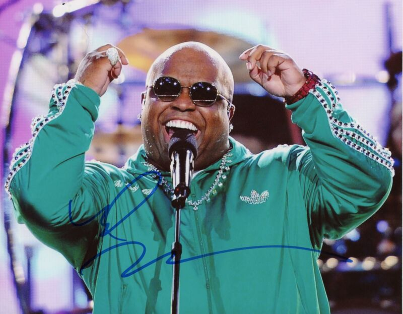 """Cee-Lo Green """"Forget You"""" AUTOGRAPH Signed 8x10 Photo D"""
