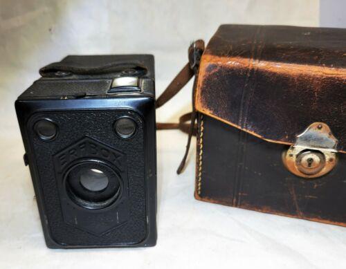 Art Deco vintage ZEISS IKON Medium Format Camera ERA BOX Frontar Lens, Untested
