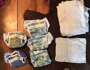 Newborn Cloth Diaper lot