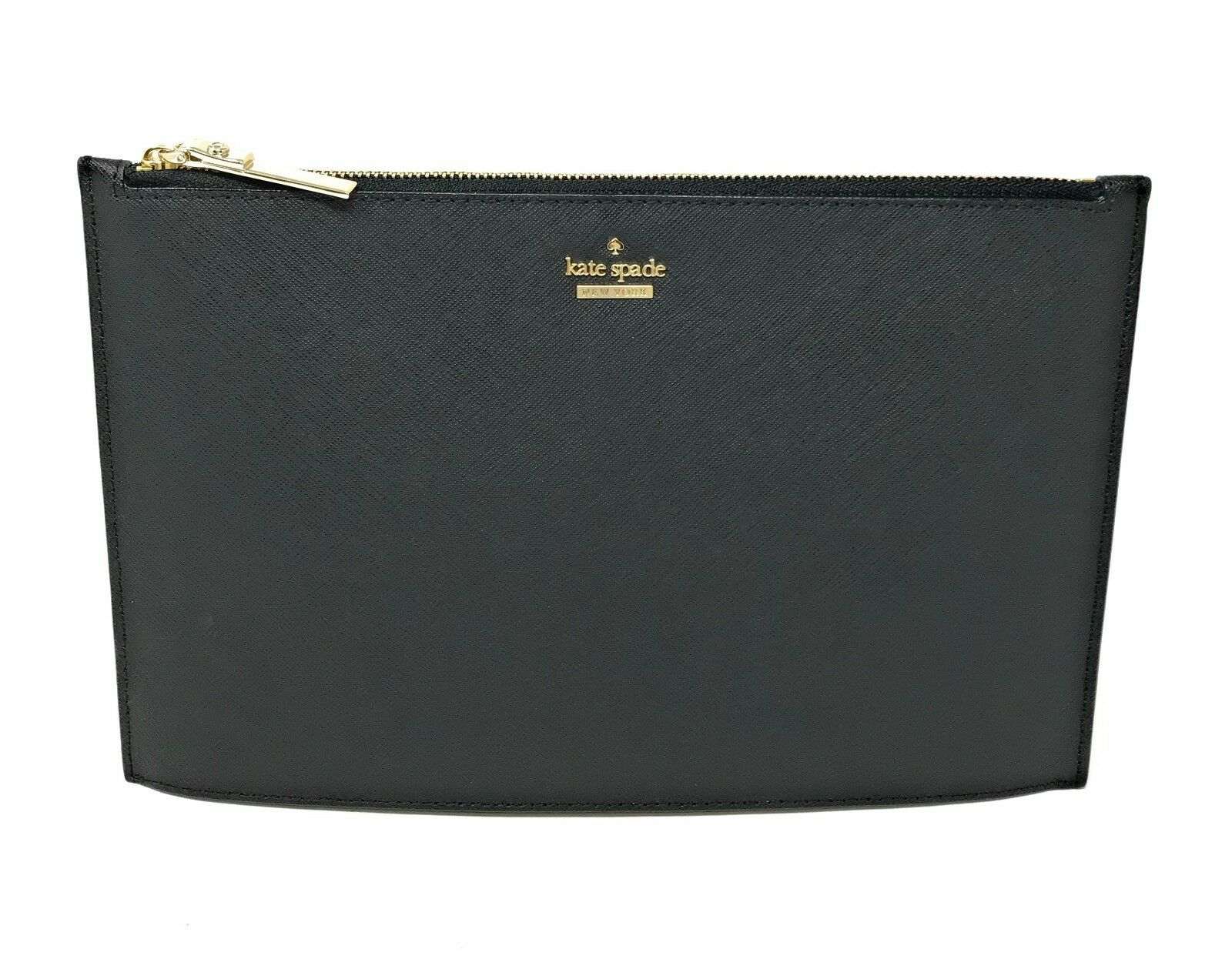 Kate Spade Cameron Street Lilia Leather Clutch Bag Black