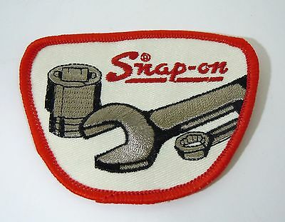 SNAP-ON Tools Iron On Embroidered Uniform-Jacket Patch 3 1/2""
