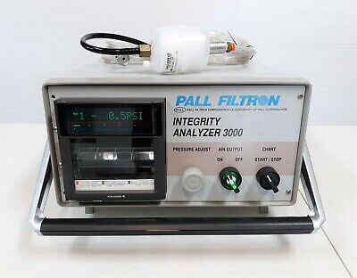Pall Filtron Integrity Analyzer 3000 Fs005k99 W Yokogawa Ur1000 Recorder