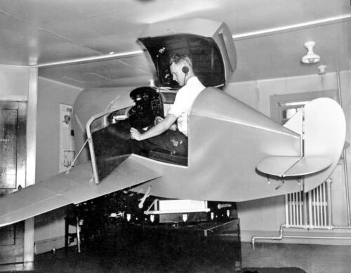 "USAAF LINK Trainer ((8.5""x11"")) Print"