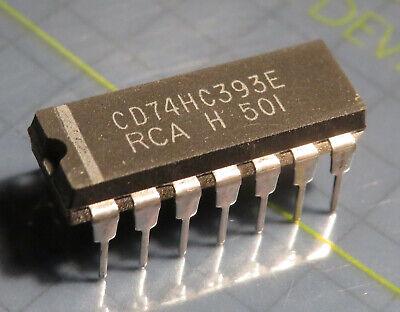 10x M74HC393B1 Dual 4-Bit Binary Counter SGS